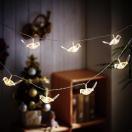 クリスマス 小鳥ストリングライト