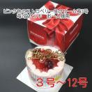 苺2段サンド/仮面ライダーエグゼイド4号(直径約12cm)//キャラデコケーキ お誕生日ケーキ 宅配商品