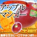 南米産・タイ産アップルマンゴー 2玉【ギフト】【贈り物】【お礼】【お祝い】【クール便でお届け】