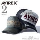 大きいサイズ メンズ AVIREX メッシュキャップ 帽子 17941900