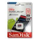 マイクロSDカード 32GB サンディスク SanDisk SDHC クラス10 UHS-1 SDSQUNC-032G-GN6MA 海外パッケージ