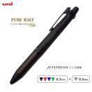 (名入れ 多機能ボールペン)ピュアモルト 4&1/ジェットストリーム//ギフト/ウイスキー樽素材使用/筆記具