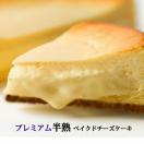 プレミアム半熟ベイクドチーズケーキ(スイーツ チーズケーキ ギフト お取り寄せ 贈答 gift)