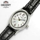 腕時計 レディス レディース 腕時計 革ベルト ORIENT オリエント×シフォン ウォッチ