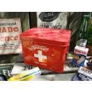 ファーマシーボックス 救急箱 アメリカン雑貨