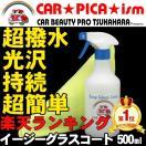 ガラスコーティング剤 500ml 簡単 超撥水 たっぷり15回分 業務用 ワックス 車 コーティング メンテナンス プロ