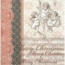 Home Fashion ドイツ ペーパーナプキン 天使のオーケストラ Orchestra of Angels 611418 バラ売り2枚1セット デコパージュ ドリパージュ