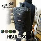 リュック メンズ 大容量 リュックサック ドラムリュック アウトドア BOT-09 HEAD SOUTH