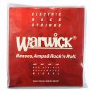 WARWICK 46200 RED nickel 4-string Set M 045-105 ベース弦