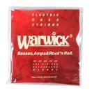 WARWICK 46301 RED nickel 5-string Set M Low B 045-135 5弦ベース弦