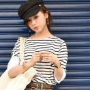 【予約期間送料無料】マリンキャスケット マリンキャップ マリン帽 ハット 帽子 コットン ボタン レース エンブレム ブラック 黒 17ss メール便不可
