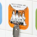 フック ムーミン コミック シートフック 粘着タイプ コミック3 ( キッチンツール キッチン用品 キッチン雑貨 )
