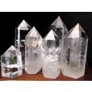 天然透明 水晶ポイント 六角柱 20グラム-30...