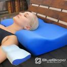 枕 まくら 肩こり ラッピング ストレートネック 頚椎マクラ 2way ブルーブラッドアートマン  BlueBlood Atman