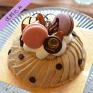 モンブラン(ホール)5号サイズ 母の日、バースデーケーキ、お祝い事、心を込めた贈り物に