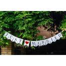 結婚式 記念写真 ウェディングガーランド JUST MARRIED ウェディングフォト ガーランド デコレーション ウェディングフォト 雑貨
