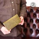 財布 長財布 革財布 英国プルアップレザー ラウンドファスナー メンズ レディース 牛革 本革 zip-pull001