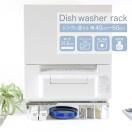 伸縮式食洗機ラック 頑丈耐荷重60kg 国産 シンク上設置