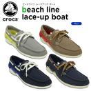 クロックス(crocs) ビーチライン レースアップ ボート (beach line lace-up boat)
