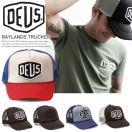 DEUS EX MACHINA デウスエクスマキナ BAYLANDS TRUCKER メッシュキャップ 帽子 メンズ バイカー NYスタイル サーフ セレブ愛用 ロゴ DMS07875