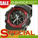 腕時計 G-SHOCK Gショック メンズ 人気 アナデジ AW-591-4 AW-591-4ADR レッド 赤