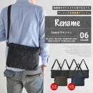 サコッシュ バッグ メンズ ショルダーバッグ シンプル ブラック 黒 ネイビー 斜めがけ 軽量 ブランド ナイロン