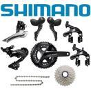 SHIMANO (シマノ) 105 R7000 ブラック コン...