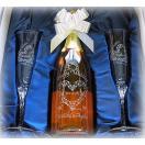 名入れ ワインW ペア シャンパングラスAセット(誕生日 プレゼント 結婚祝い ギフト 男性 女性 母 名前入り スパークリング ウィスパーズ)