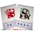 中国剪紙 大熊猫(パンダ)