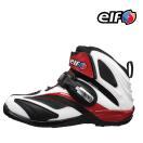 あすつく elf シンテーゼ14 synthese14 防水ライディングシューズ エルフ バイク用 スニーカー ショートブーツ バイク用品