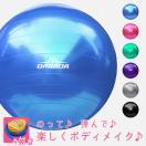 バランスボール エクササイズボール ヨガボール 直径65cm 全5色 フットポンプ付き レビュー投稿で送料無料[EXC]