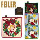 フェイラー FEILER ハンカチタオル 25cm 限定品 2016年デザイン(クリスマス・ウィンター)ミニ 選べるデザイン♪