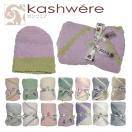 kashwere カシウエア ブランケット ベビーブランケット &キャップ Baby blanket & cap 選べる14カラー