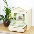 ペット仏壇 ペット骨壷も納まる Natural House 2色