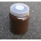クワガタ幼虫用マット入り クリアボトル800ml