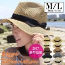 帽子 レディース 夏 UVカット 中折れハット  麦わら帽子 uv 夏 紫外線 つば広ハット 帽子レディース リボン 中折れ ストローハット  サイズ