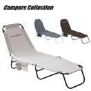 アウトドア 折りたたみベッド バーベキュー キャンプ アウトドア用イス 折り畳み レジャーチェア イス 椅子 C272-4(GY)【あすつく】