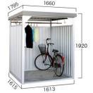 【ダイマツ×環境生活】自転車置き場 ダイマツ多目的万能物置 DM-7壁面パネルロング型  ※お客様組立品 送料無料