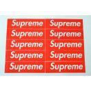 10枚セット 定番★Supreme シュプリーム ステッカー ボックスロゴ box logo sticker