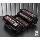 在庫有 KTC 工具セット 9.5sq. 56点ツールセット ブラック (豪華特典付) SK35617WZGBK