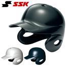 SSK エスエスケイ 少年軟式用両耳付きヘル...