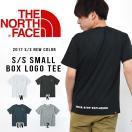 半袖Tシャツ THE NORTH FACE ザ・ノースフェイス メンズ 赤ロゴ S/S Small Box Logo Tee ショートスリーブスモールボックスロゴティー 2017春夏新作 nt31732