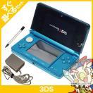 3DS ニンテンドー3DS アクアブルーCTR-S-BAAA 本体 すぐ遊べるセット Nintendo 任天堂 ニンテンドー 中古 送料無料