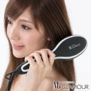(正規販売店)あすつく (送料無料) MAKEGINA GLAMOUR メイクジーナ グラマー (ストレートブラシ ストレートブラシアイロン ブラシタイプ ブラシ型)