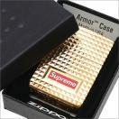 SUPREME(シュプリーム) Diamond Cut Zippo (ジッポ)(ライター) GOLD 290-004424-018+【新品】(グッズ)