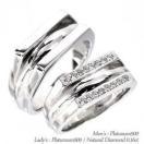 結婚指輪 マリッジリング ペアリング プラチナ900 PT900 指輪 レディース 人気