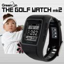 GreenOn(グリーンオン)THE GOLF WATCH mk2(ザ・ゴルフウォッチ マーク2)MASA日本正規品高機能GPS距離測定器