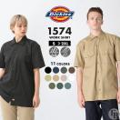 Dickies ディッキーズ ワークシャツ 半袖 アメカジ 夏 dickies ワークシャツ 1574 ディッキーズ シャツ 半袖 メンズ 大きいサイズ メンズ 半袖シャツ