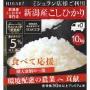 米5kg×2袋 お米 白米 新潟産コシヒカリ10k...