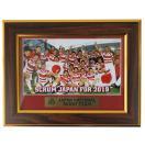 【78%OFF】ラグビー日本代表 2015 オフィシャル ワールドカップ記念 額入りフォト 225×175mm【ラグビー グッズ 雑貨】MS15151